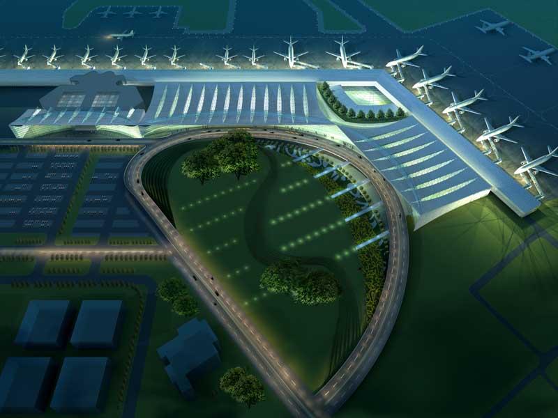 kolkata airport terminal map Kolkata Airport Venture Gets More Land Txp Research Unifi kolkata airport terminal map